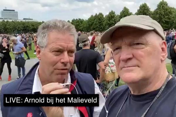 Live 21 Juni Arnold Bij Het Malieveld Omroep Ongehoord Nederland
